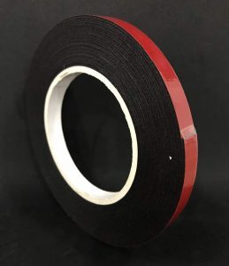 DOUBLE SIDED PE FOAM TAPE- RED RELEASE LINER Malaysia Supplier