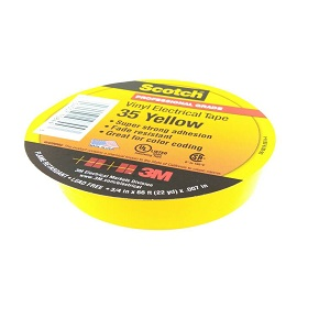 3M Scotch Vinyl Electrical Yellow 35 Malaysia Supplier